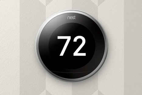 Nest thermostat retooled with a bigger display, furnace monitoring | Internet of Things - Technology focus | Scoop.it