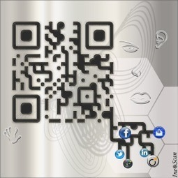 QR Code - Art Social Network by IneoScan | QRiousCODE | Scoop.it