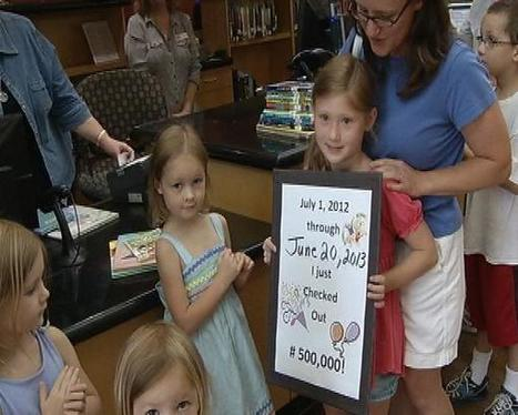 500,000th item checked out at Johnson City Public Library - WJHL-TV | Tennessee Libraries | Scoop.it