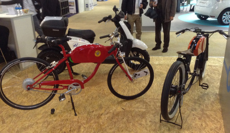 Sharp & Vintage Electric Bicycles From Barcelona | Sustain Our Earth | Scoop.it