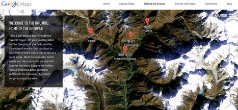 Visiter l'Everest avec Google Maps | Géographie : les dernières nouvelles de la toile. | Scoop.it
