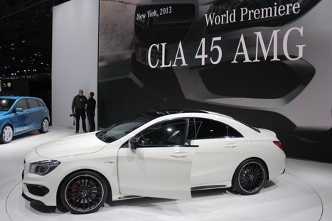 2014 Mercedes-Benz CLA45 AMG Auto Show | Mercedes-Benz | Scoop.it