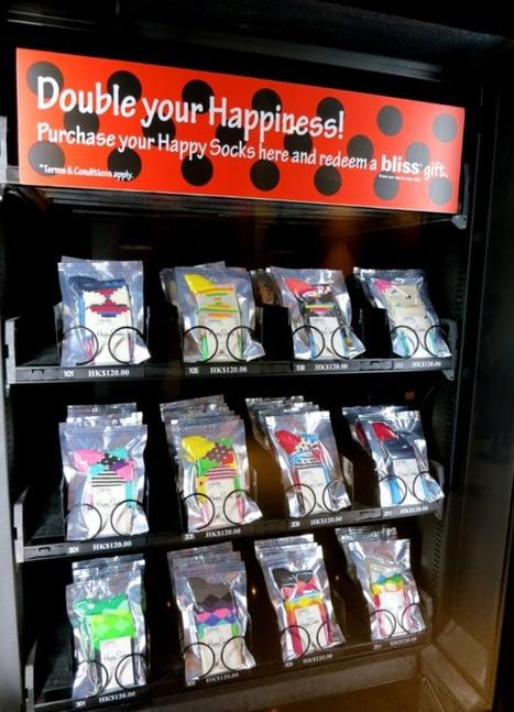 Happy Socks ya vende sus calcetines en máquinas expendedoras. | #Coolhunting Empresarial | Scoop.it