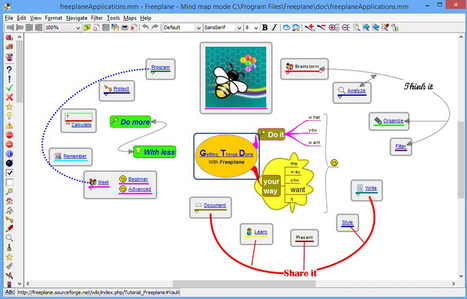 Freeplane: a versatile brainstorming tool | Digital Presentations in Education | Scoop.it
