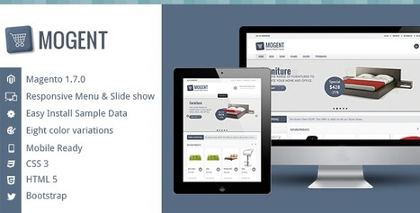 Mogent:  Mobile ready Magento template | Design and Lean Manufacturing and Application | Scoop.it