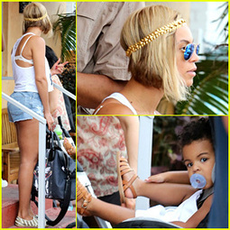 Beyonce Flaunts Longer Hair at Lunch with Jay Z & Blue Ivy ... | Steve's Hair & Wigs | Scoop.it