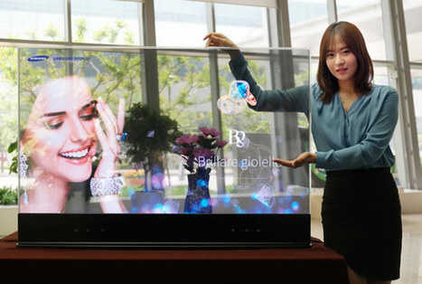 Samsung Display Introduces Mirror –Transparent OLED Display Panels | OLED-News | Scoop.it