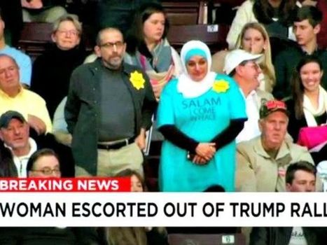 Islamic Protester Booted from Trump Rally Is Anti-Israel Activist | The Pulp Ark Gazette | Scoop.it