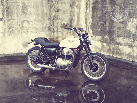 "KAWASAKI W650 ""FRENCH CALAVERA"" 