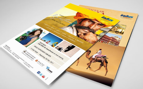 Indus Marketing Print Collateral that win - Best Tour Operator to India from America tag | Branding Advertising News Thoughts | Scoop.it