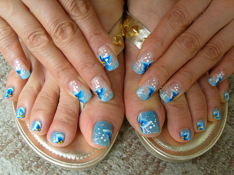 Toe Nail Art Designs | Toe Nail Designs | Toe Nail Art | Style Den | Scoop.it