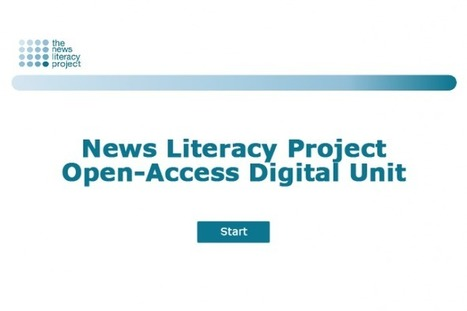 Open‐Access Digital Unit | The News Literacy Project | Educommunication | Scoop.it