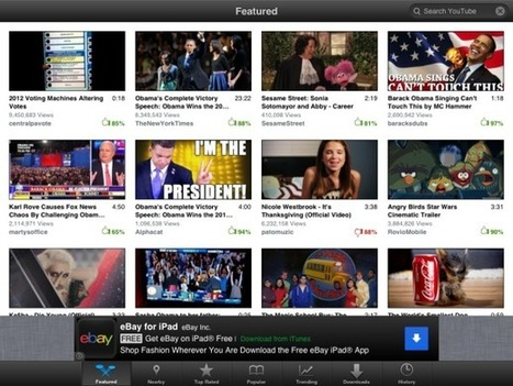 Four YouTube players square off for a spot on your iPad | CNET (blog) | Tech in Education | Scoop.it