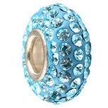 Swarovski CZDiamond 925 Single Core fit Pandora bracelet Aquamar [NB4] - $3.50 | Cute Pandora Charms on bracelet-bead.com | Scoop.it