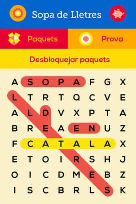 Sopa de Lletres - el Joc de Paraules en Idioma Catala by Nicole Hofmann | MÒBIL ES.COLA | Scoop.it