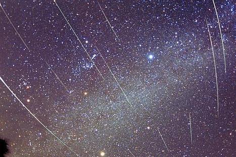 Pluie d'étoiles filantes sur la Francesamedi soir | A-arts-s s s (animaux, nature, écologie, peinture huile) | Scoop.it