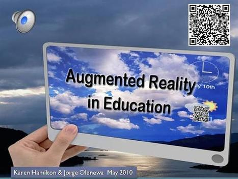 Augmented Reality in Education Ppt Presentation | Errealitate Areagotuta | Scoop.it