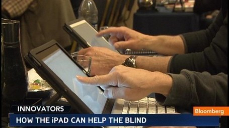 Unlocking the Power of the iPad for the Blind: Video | iPads in schools | Scoop.it