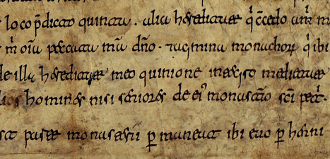 The roads of Medieval Galicia. Fighting against the Carolingian script?   Medieval Manuscripts   Medieval Palaeography   Scoop.it