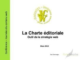 Conférence charte éditoriale web lille- journées du contenu web   Stratégie et Création de contenu   Institut de l'Inbound Marketing   Scoop.it