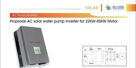 Soalr Pumps   IBN AL NAFEES   Scoop.it