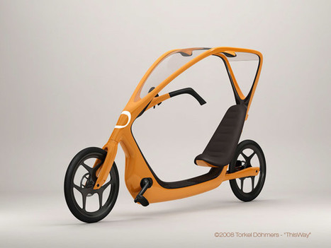 ThisWay, un vélo couché inspiré du BMW C1 | Velo et Design | Scoop.it