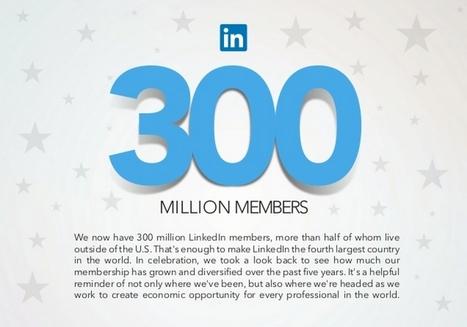 Forrester découvre que LinkedIn est un réseau social professionnel | My weekly favorite news | Scoop.it