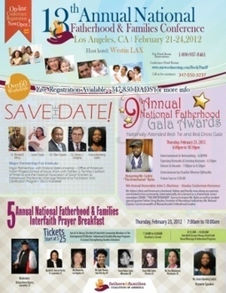 EVENT RECAP *13TH ANNUAL NATIONAL FATHERHOOD AND FAMILIES CONFERENCE | narme | Scoop.it