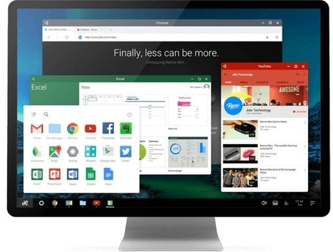 Remix OS vous propose une vraie expérience Android sur PC | mlearn | Scoop.it