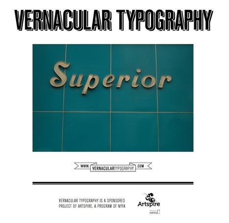 Vernacular Typography | Looks -Pictures, Images, Visual Languages | Scoop.it