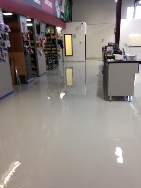 Epoxy Flooring Over Concrete vs. VCT Tiles   The Floor Company   Marketing   Scoop.it