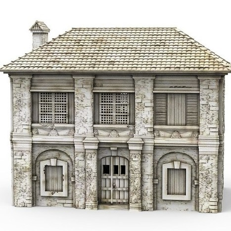 Painting a 3D-printed Caribbean building | Military Miniatures H.Q. | Scoop.it