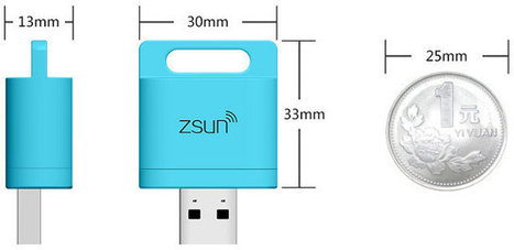 Zsun Wifi Card Reader Can Now Run OpenWrt | Embedded Systems News | Scoop.it