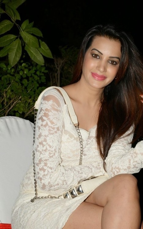 Actress Deeksha Panth White Lace Mini Skirt Dress Spicy Photos at Bham Bholenath launch, Actress, Tollywood, Western Dresses   Indian Fashion Updates   Scoop.it