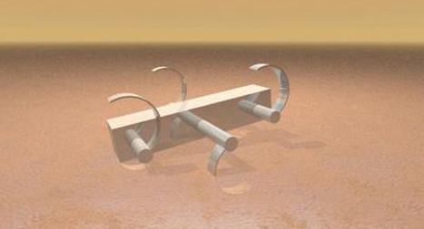 Terradynamics could help engineers design better robots for Mars | Amazing Science | Scoop.it