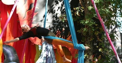 Defy Gravity with Aerial Yoga | Fitness | Scoop.it