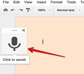 Voice Typing Is A Great Feature in Google Docs - Here Is How to Use It (@Medkh9) | Education Technology - theory & practice | Scoop.it