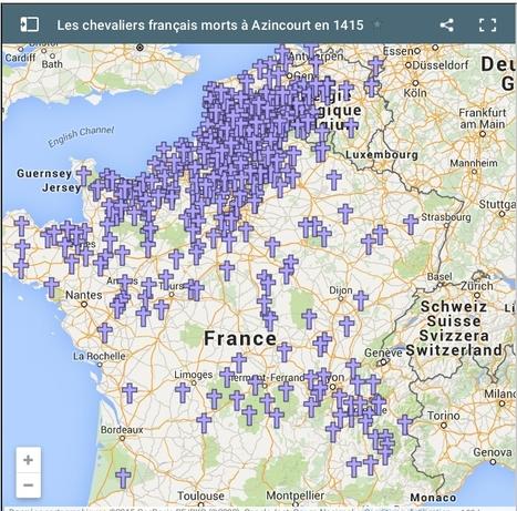 Azincourt 1415 : d'où venaient les chevaliers français morts à la bataille ? - France 3 Nord Pas-de-Calais | Nos Racines | Scoop.it