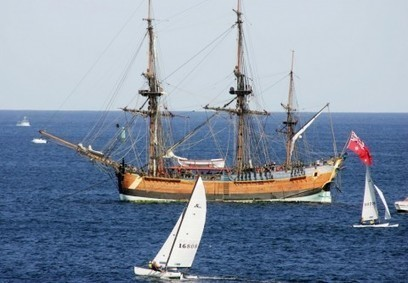 Captain James Cook's centuries-old ship discovered in Newport Harbor | News in Conservation | Scoop.it