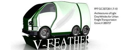 V-Feather, un véhicule de livraison aussi léger qu'une plume | Infogreen | Ecoparc mobilité | Scoop.it