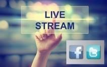 Twitter e Facebook integrano il Live Video Streaming, e la comunicazione si fa in tempo reale!   Gioiacommunica   Scoop.it
