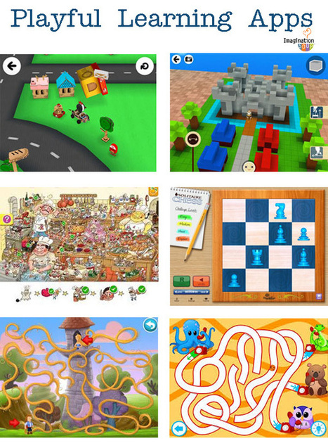 Playful Learning Apps – Imagination Soup Fun Learning and Play Activities for Kids | Coding for Kids | Scoop.it