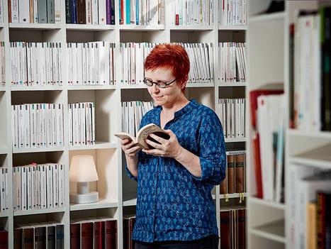 L'odeur du papier, le bruit des pages, la musique des phrases… Soigner par la lecture... | Les Mots et les Langues | Scoop.it