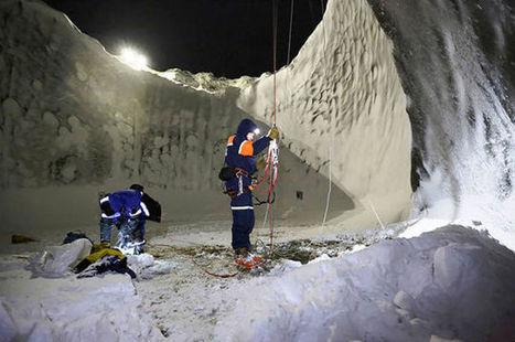 Científicos exploran el interior de uno de los extraños cráteres rusos | Geografía en el Liceo | Scoop.it