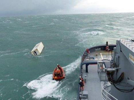 La menace de centaines de conteneurs à la mer | Ouest France Entreprises | Îles du Ponant Finistère | Scoop.it
