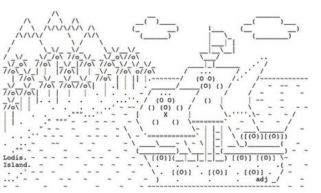Lodis island by adj, via. | ASCII Art | Scoop.it
