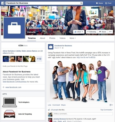 Highlights And Lowlights Of Facebook's New Pages - AllFacebook | Social Media | Scoop.it