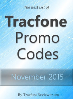 TracfoneReviewer: Tracfone Promo Codes for November 2015   Tracfone Reviews and Promo Codes   Scoop.it