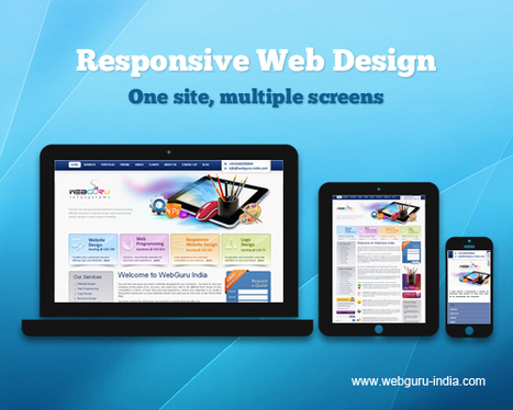 One Website, Many Devices. Responsive Web Design Live in Action! | Digital Marketing Africa | Scoop.it