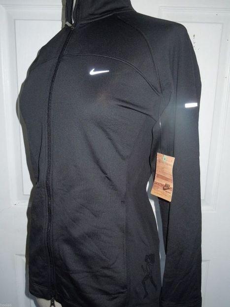 2013 Nike Women's San Francisco Marathon Full Zip Fleece Jacket(XS) Blk MSRP $92 | Sports Clothing | Scoop.it